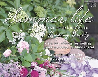 Jeanne d'Arc Living Magazine, June 2017 - 6th Issue, Summer Life IN STOCK