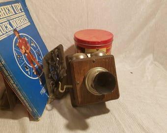 Antique DeVeau telephone