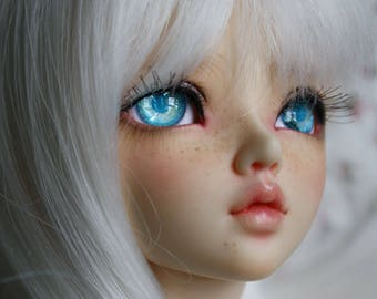 BJD eyes Doll eyes Hand made available in 12/14/16/18/20/22/24mm Nordic Ice made to order