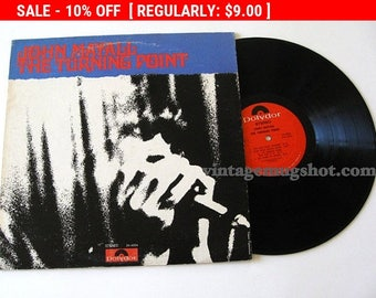 August Vinyl Blow Out 10% OFF Already Low Prices John Mayall Blues Lp Vinyl Record Turning Point sixties British