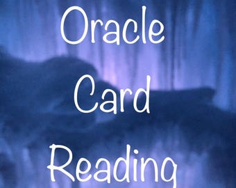 Intuitive Oracle Card Reading Divination