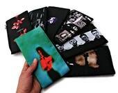 Depeche Mode Zip Bag,Violator Pencil Case, Depeche Mode Gift,Dave Gahan,Martin Gore,Alan Wilder,Andy Fletcher,Synthpop Gift,80 music lover