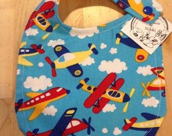 Baby Bib- Airplane