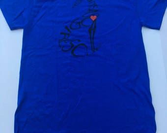 EXTRA LARGE - Royal Blue Rescue T-shirt