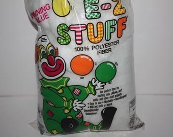 Fairfield E-Z Stuff Poly-Fil Polyester Fiberfill Stuffing 12 oz Bag/Destash Fiber Stuffing