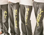 RESERVED LISTING for Ijeoma Anyanwu - Expedited Shipping Cost - Bridal Party Personalized Sweatpants