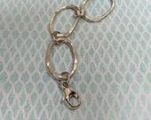 Oval links bracelet Sterl...