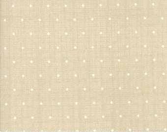 Bayberry by Kate and Birdie Paper Co - Chambray Dots in Stone (13166-27) - 1 Yard