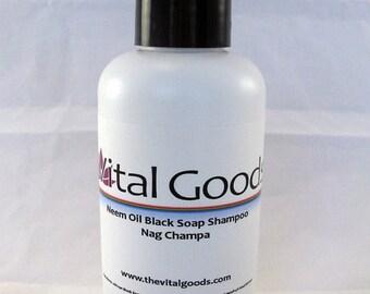 ON SALE Dreadlock Shampoo Neem Nag Champa Black Soap shampoo 4oz