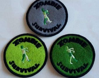 Zombie Survival , walker patch, Walking Dead, iZombie, patches UK