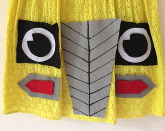 Super Cute Handmade Magic School Bus Halloween Costume Size 4