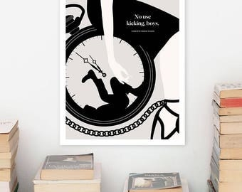 CHARLOTTE PERKINS GILMAN Literary Art Prints, Quote Minimalist Poster, Large Wall Art Print, Feminist Art, Book Lover Literary Gifts for Her