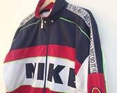 """Vintage Nike sports zip jacket 52"""""""