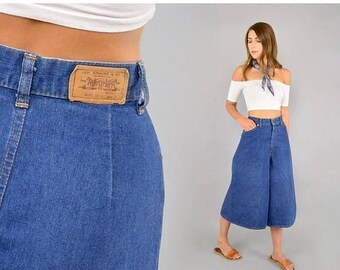 SUMMER SALE 70's Levi's Denim Culottes