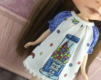 Blythe Smock Dress - Gumball Machine