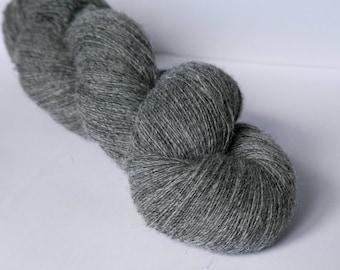 1 ply Kauni Wool Yarn 8/1, Self-Striping Color ed, dark Grey