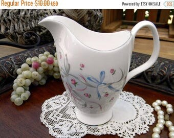 ON SALE Royal Albert, Buttons and Bows, Creamer Only, Vintage Creamers, Bone China, Antique Tea 10621