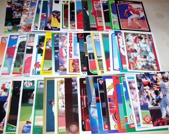 50 Assorted Vintage St. Louis Cardinal Cards