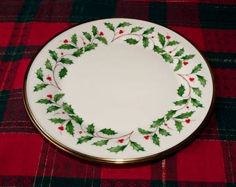 """Lenox Dimension Holiday Dinner Plate 10 1/2 """""""