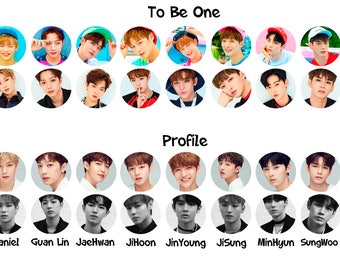 Wanna One Pinback Buttons