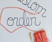 Added Embroidery Fee for Kiersten