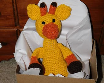 WeeKinder Crocheted Stuffed Animal - Giraffe