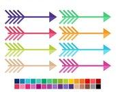 40% OFF SALE Arrow Clip Art 2 - arrow clipart - digital clip art - tribal clipart - Commercial Use - Instant Download