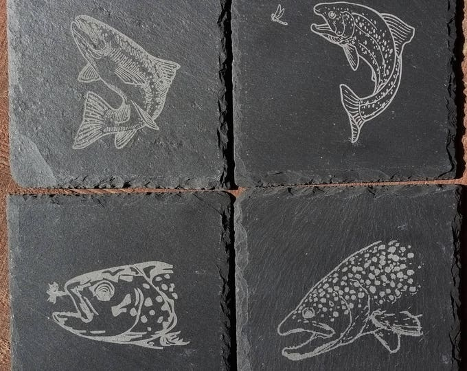 Trout Drink Coasters