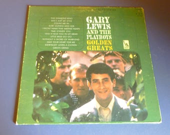Gary Lewis And The Playboys Golden Greats Vinyl Record LP LST 7468 B Liberty Records 1966