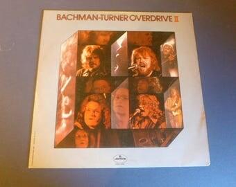 On Sale! Bachman Turner Overdrive II Vinyl Record SRM-1-696 Mercury Records 1973