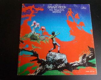 Uriah Heep The Magicians Birthday Vinyl Record LP SRM-1-652 Mercury Records 1972