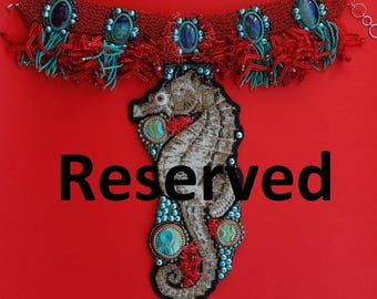 Reserved for birtasophia seahorse necklace 4