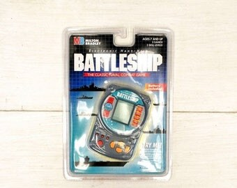 34% Off Sale - Hand Held Battleship Game Early 90s Vintage Electronic Travel Game New in Original Packaging
