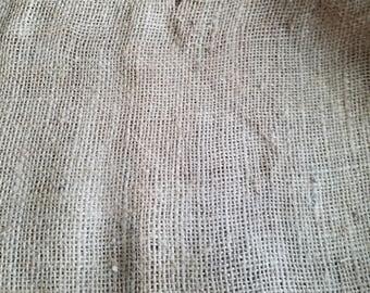Burlap Sack Vintage/Feed Sack/ Feed Sack/ Gunny Sack/Rustic Decor/ Wedding Decor