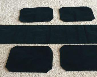 Dark Green Table Runner Set