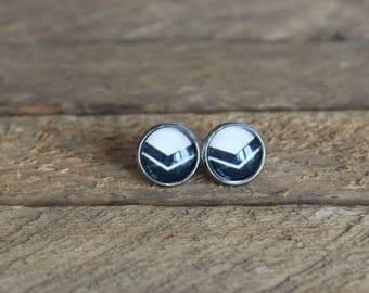 Petites merveilles  // earrings // fait au quebec   (BO-1398)