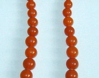uNIQUE aNTIQUE Old nATURAL BALTIC Honey AMBER Bead NECKLACE Rare 51.3gr   22""