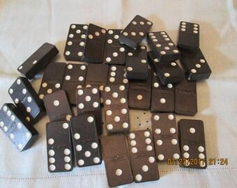 Vintage Crown Dominoes, Game , Dominoes Made IN USA, Tile Game