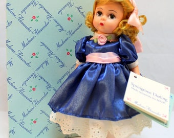 Madame Alexander Springtime Darling for MADC 2000 Rare From Doll Convention