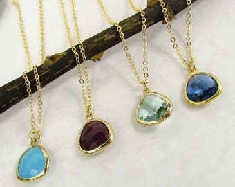 Sale Blue Hues Friendship Necklace