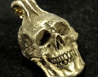 Skull Pendant, 14K gold Skull Pendant