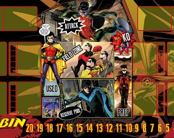 Robin Nightwing Dice Masters Play Mat