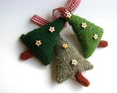 Knit Your Own Christmas Trees Knitting Kit