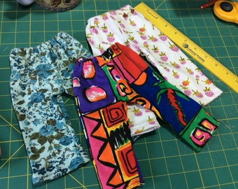"3 pairs Leggings, pants for 16-18"" Waldorf dolls"