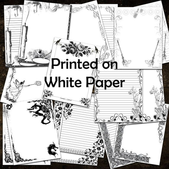 WITCHCRAFT Printable BOOK of SHADOWS 18  Pages