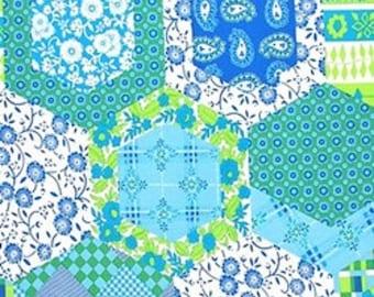 Hexagon Quilt Block Etsy