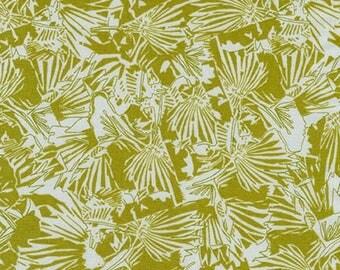 Gleaned Jungle Border in Seafoam, Carolyn Friedlander, Robert Kaufman Fabrics, 100% Cotton Fabric, AFR-17289-241 SEAFOAM