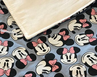 Minnie Mouse Crib Comforter