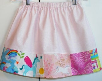 Perfect skirt for unicorn lovers   (2T, 3T, 4T, 5T, 6, 7, 8, 10)
