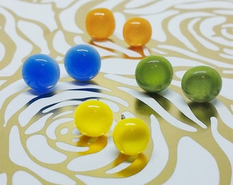 Custom Color and Quantity, Summer Collection Earrings, Wedding, Prom or Formal Attire